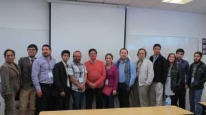 Reunión Satelital de RedLACC en el XXXV Congreso de la SIP (aparecen estudiantes y miembros de la SIP)