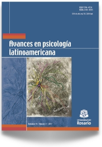 Avances en Psicología Latinoamericana