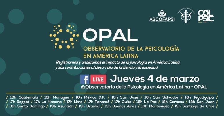 Invitación Lanzamiento OPAL